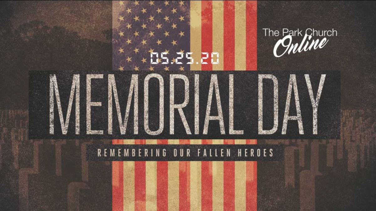 Memorial Day: Church Offices Closed