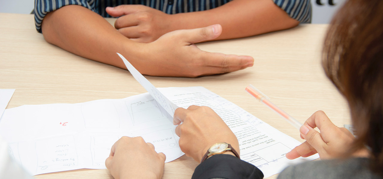 Consult our HR professionals for job transition assistance