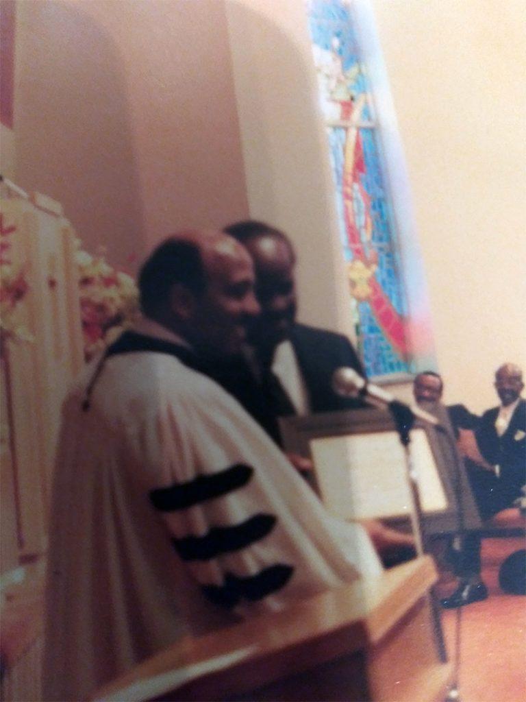 Rev. James E. Palmer (1972-1990) photograph